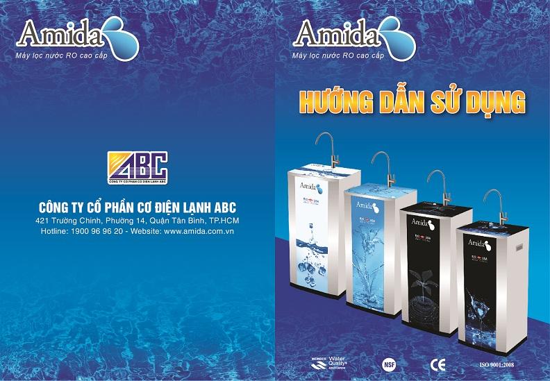 Hướng dẫn sử dụng máy lọc nước RO Amida